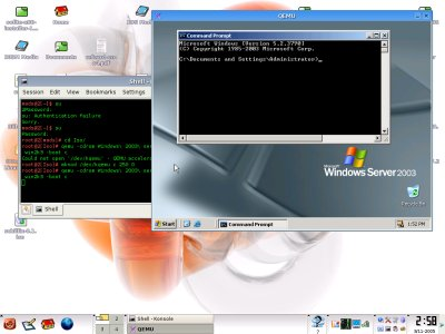 windows2003qemu